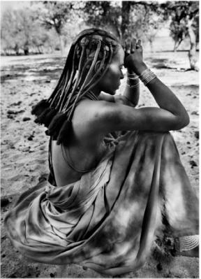 Himba ženska