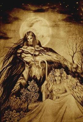 Morana in Vesna, slika: Ivana Rezek