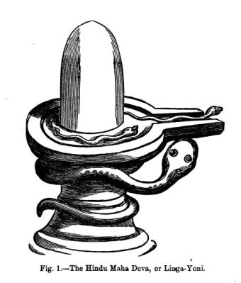 Simbolni kip lingama in yoni - združenih moških in ženskih spolnih organov. Lepoto spolne združitve, penetracije, lahko občutimo šele, ko pozdravimo svoje spolne rane.