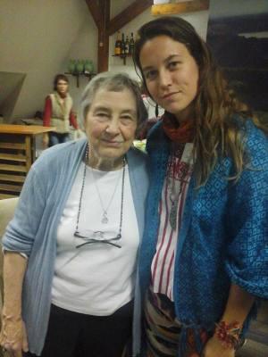 Nežna, srčna, sočutna, Doula, Modra Ženska - Penny Simkin. Tako hvaležna, da sem jo spoznala, začutila.