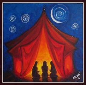 rdeči šotor