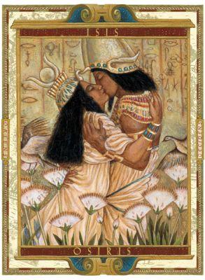 Izis in Oziris in njuna neskončna ljubezen.