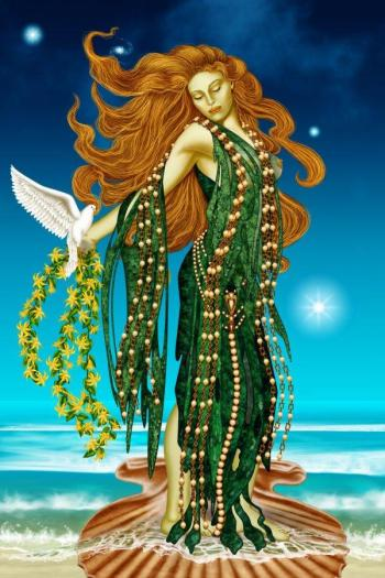 Boginja Afrodita zdravi spolnost tako, da nam povrne otroško nedolžnost, igrivost in nezadržanost.
