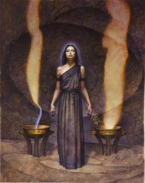 """Če """"vlogo"""" zamenjamo za """"izkušnjo"""", postanemo Svečenice."""