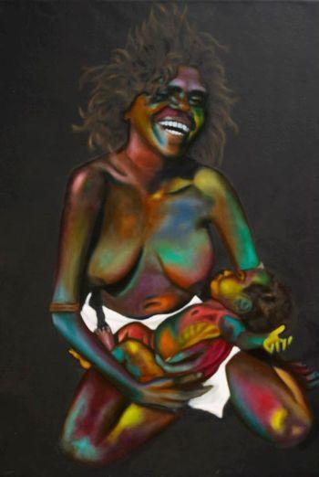 aboriginal mama