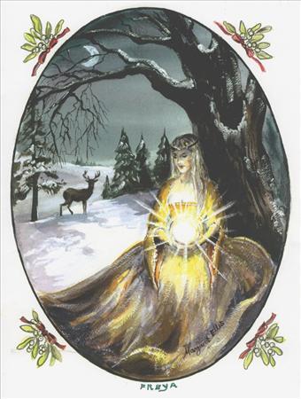 Yule Goddess Freya