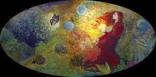 Brigid prinaša novo Leto. Prinaša belino, deviškost, očiščenost. Prinaša blagoslovljen plamen.