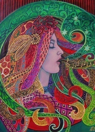 Mezzo Goddess (We Sing Our Dreams into Being)  - Emily Balivent [2008] '' Pojemo naše sanje v Obstoj''