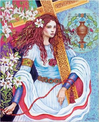 Marija Magdalena izžareva arhetipsko celovito ženskost. Kdaj bo naša družba zrela, da jo sprejme? slika: Lindsey Hardin Freeman