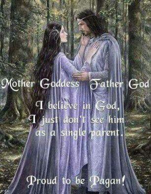 """Hudomušen zapis """"Mati Boginji, Oče Bog. Verjamem v Boga, samo ne vidim ga kot starša samohranilca."""""""
