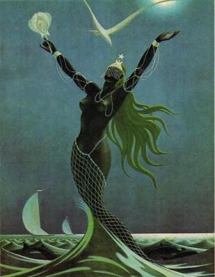 Odnos z Boginjo se porodi iz notranjosti, iz naših globin vznikne tako, kot je vzniknila Afrodita iz morske pene in Yemanya iz morskih valov. Porodi se iz globoke ljubezni in vroče strasti do sebe, ki jo rodimo v svojih maternicah - organih odnosnosti.