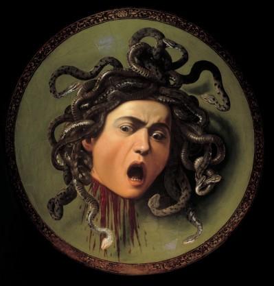 Zlo je naravni del človeškosti in del vsakega od nas. Razorožimo ga šele s sprejemanjem. Slika: Caravaggio